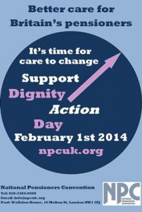 Dignity Action Day Poster